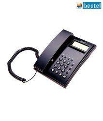 Plastic Beetel M51 CLI Corded Phone