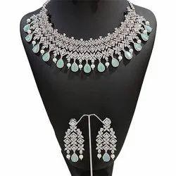 Engagement Ladies Artificial Designer Necklace Set