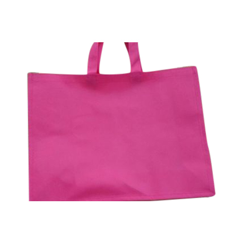 Handled Plain Non Woven Bag, Capacity: 500gm And 10kg