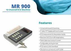 Medivizion Digital ECG Machine, DIGITAL, PORTABLE, Number Of Channels: 3 Channels