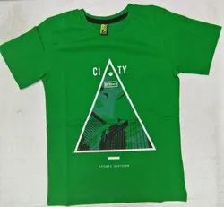 Green Color T Shirt