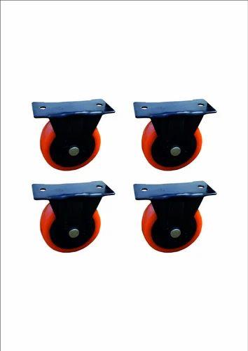 Medium Duty Trolley Caster Wheels, Size: 50mm