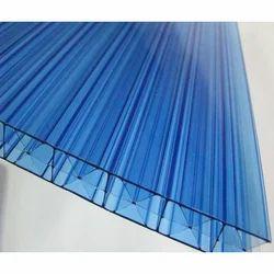 Blue Polycarbonate Hollow Sheet