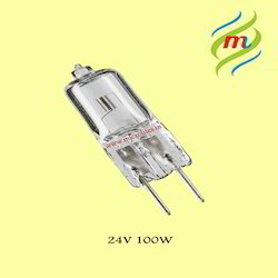 Halogen Lamp 24V-100W Vertical