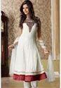 White Ladies Designer Churidar Suit