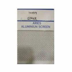 Aries Square Silver Aluminium Screen