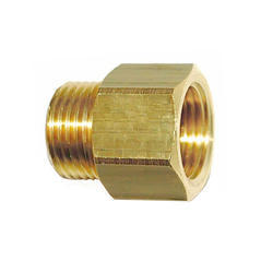 Brass Hex Adaptor, Application: Hydraulic Pipe