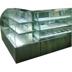 Curved Glass Bakery Display Counter