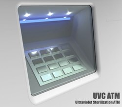 UV Sterilizer for ATM Keypad, Elevators & Escalators