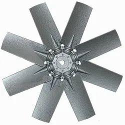 Aluminum Impeller 6 Blade Dia 400 mm