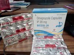 Bitzol 20mg (Omeprazole Cap 20 mg)