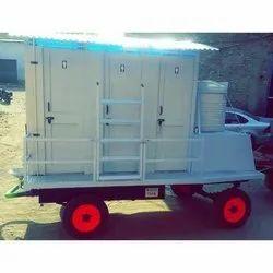 FRP Mobile Urinal Van