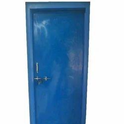Blue Plastic Door