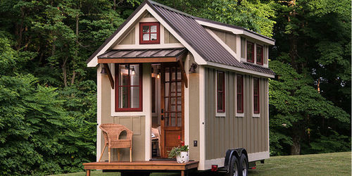 Wood And Steel Container Tiny House Rs 1000000 Unit Techno Cap