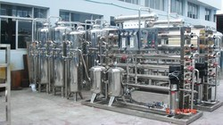 Borewell Water Stainless Steel Water RO Purification Plant, Water Storage Capacity: 4000 L, 5000