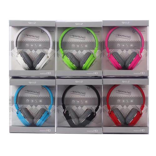 ef4a292637d SH-12 Wireless Bluetooth Headphone at Rs 390 /piece | Karol Bagh ...