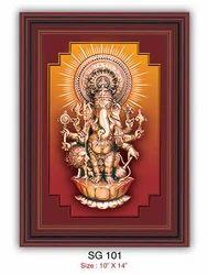 Sri Shubha Drishti Ganapathy (Wall Hanger - Big)