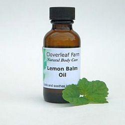 Organic Lemon Balm Oil