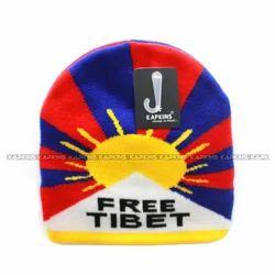 7e82dc81197 Multicolor Kapkins Warm Woolen cap