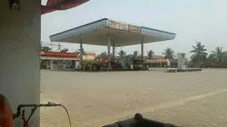 Indian Oil Petrol Pump Canopy Construction Services