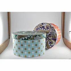 Round Cardboard Gift Box