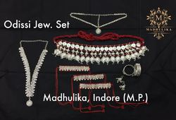 Madhulika metal Odissi Jewellery Set