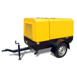 Portable Diesel Screw Compressor