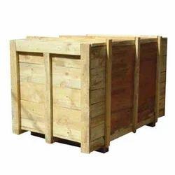 Termite Resistant Rectangle Wooden Jumbo Box, 5-15 Mm, Box Capacity: 1000-2000 Kg