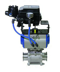 Electro-Pneumatic Actuator DN25