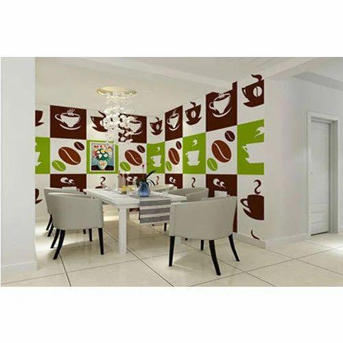 Fancy Dining Room Wallpaper