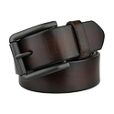 Brown Genuine Leather Belts, Length - S-xl