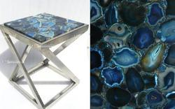 Blue Agate Coffee Table
