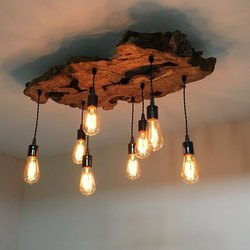 Wooden Decorative Light