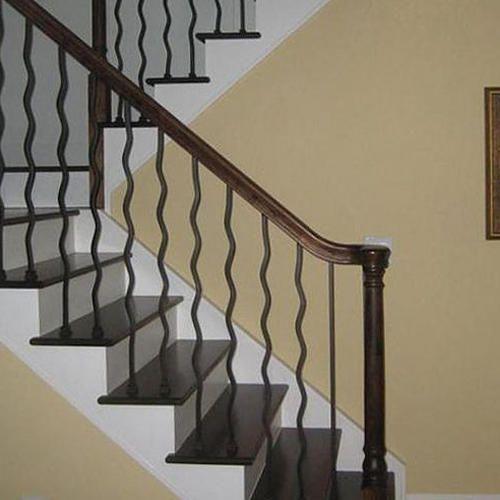 Designer Iron Staircase Railing
