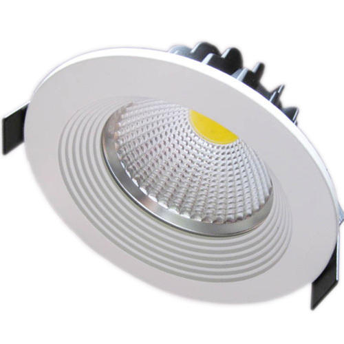Cool White Round LED Downlight, 220-240 V