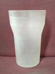 White & Transparent 300 Ml Polypropylene Glass, For Home