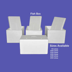 White Fish Box, For Packaging, Thickness: 1-10 mm
