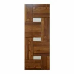 Brown 6 Feet Wooden Laminated Doors for Home