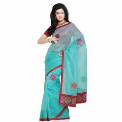Designer Cotton Saree with Blouse 212