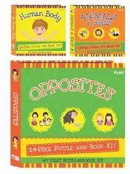 Flab Puzzle & Books Kit - Usborne