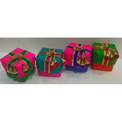 4X4 Palmleaf Square Box