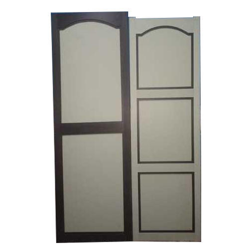 Wooden Frame PVC Door, Size: 6 X 2 Feet