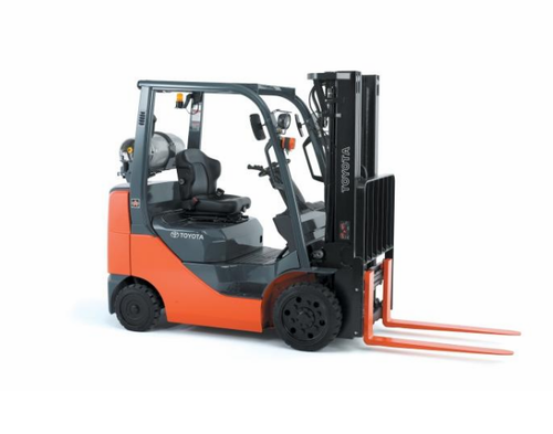 Old Forklift, Order Picker And Reach Truck | ID: 15167867655