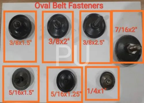 PU Oval Belt Fastener