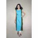 Ladies Designer Blue Kurti