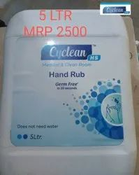 5 ltr Cyclean Alcohol Based Hand Sanitizer