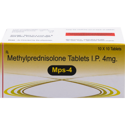 Methylprednisolone 4 Mg Tablet (Mps- 4)