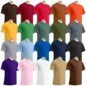 Plain Round Neck Biowash Tshirt 180-200 Gsm