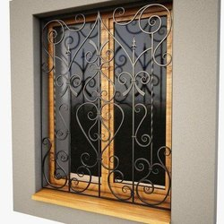 Exterior Galvanized Iron Window