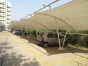 Sioen PVC Coated Car Parking Shades